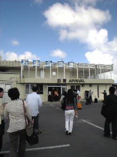 石垣島に着いた