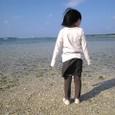 海に入りたい5歳児