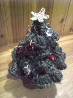 クリスマスツリーに星
